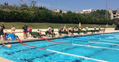 Les piscines municipals acullen dissabte l'Hora de Resistència
