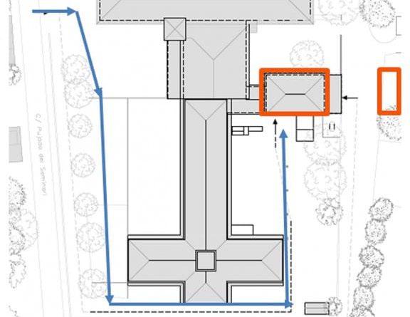 L'Amisol habilitarà una nova llar-residència a l'antiga casa de les Monges del Seminari
