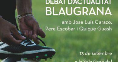 La Penya Barcelonista de Solsona i Comarca organitza un debat d'actualitat blaugrana