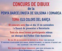 La Penya Barcelonista convoca el seu tercer concurs de dibuix