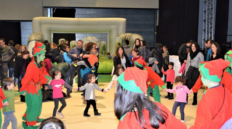 La Sala Polivalent es convertirà en un parc de Nadal per a la mainada solsonina