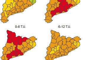 El Solsonès, comarca de màxima afectació pel risc de vent
