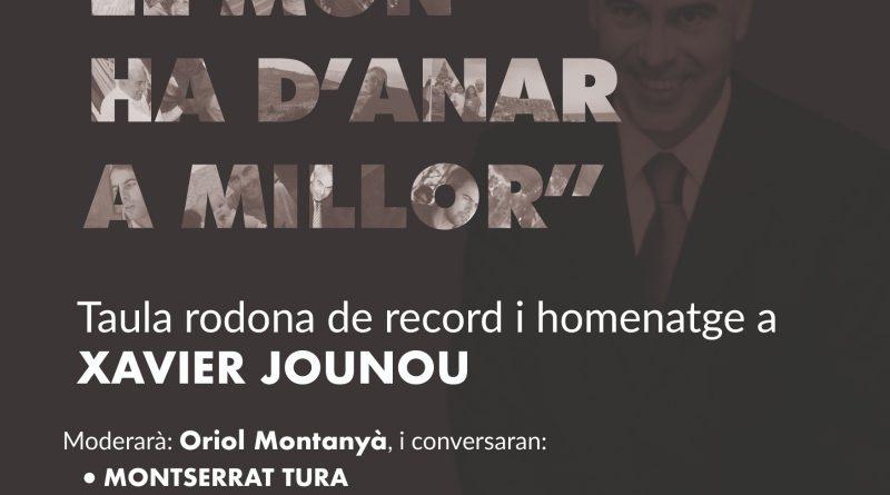 Esquerra Solsona organitza una taula rodona de record i homenatge a Xavier Jounou