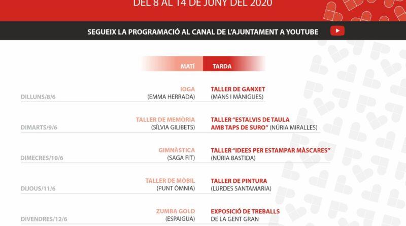 Arriba la Setmana de la Gent Gran de Solsona en format virtual i amb una quinzena de propostes
