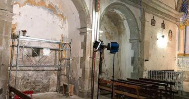 Comencen les obres de restauració de l'església de Sant Just d'Ardèvol per consolidar-ne l'estructura