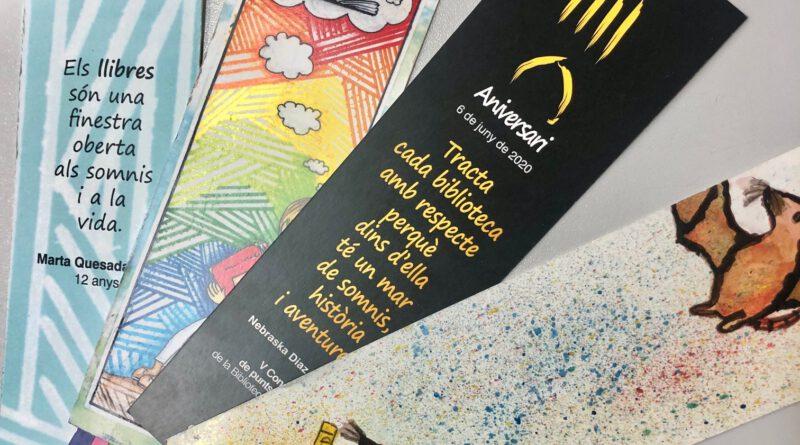 La Biblioteca Carles Morató convida l'alumnat de 3r i 4t de primària a dissenyar el punt de llibre del sisè aniversari de l'equipament
