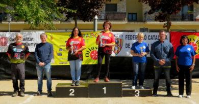L'Olius fa tres podis al Campionat de Lleida Individual de Bitlles