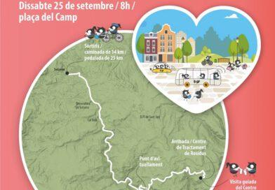 El Solsonès s'adhereix a la Setmana Europea de la Mobilitat amb una caminada i pedalada a l'abocador